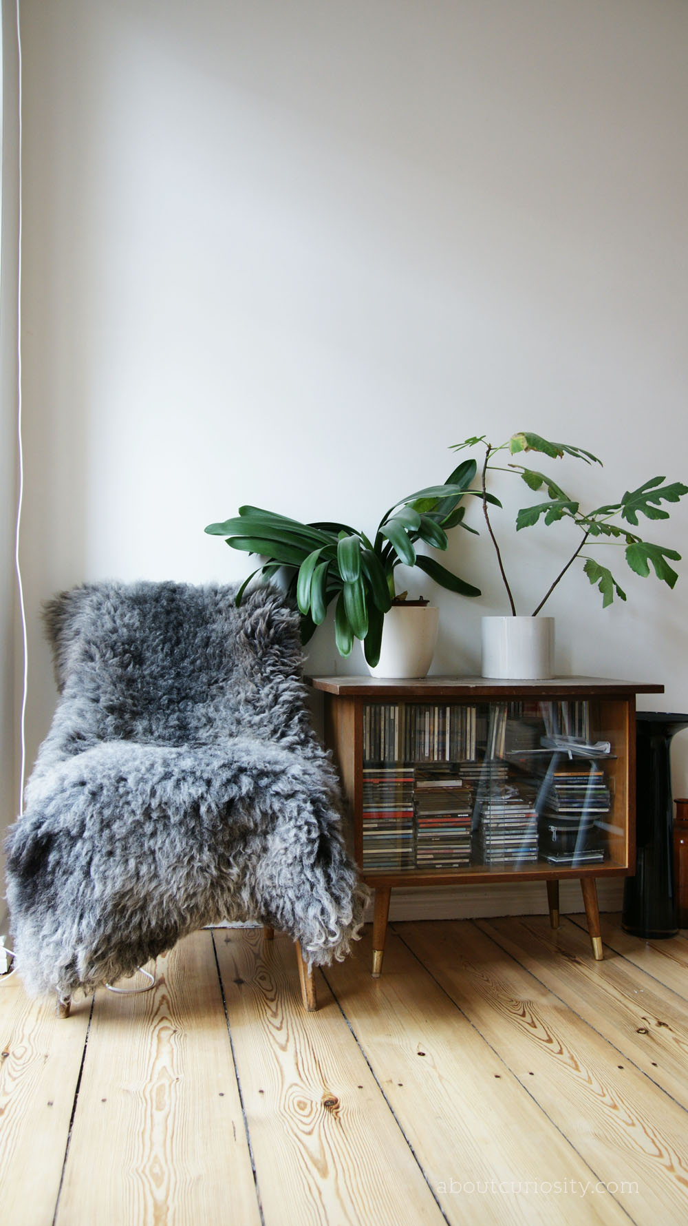 Scandinavian Vintage Design with Fur