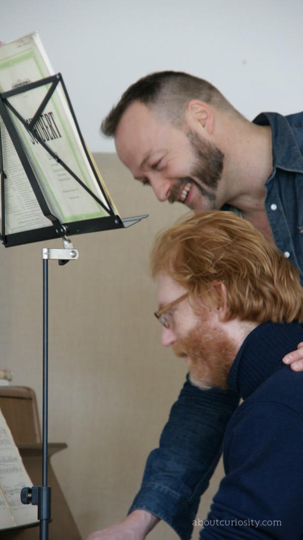 mats bergen and Musician Jonathan Fischer