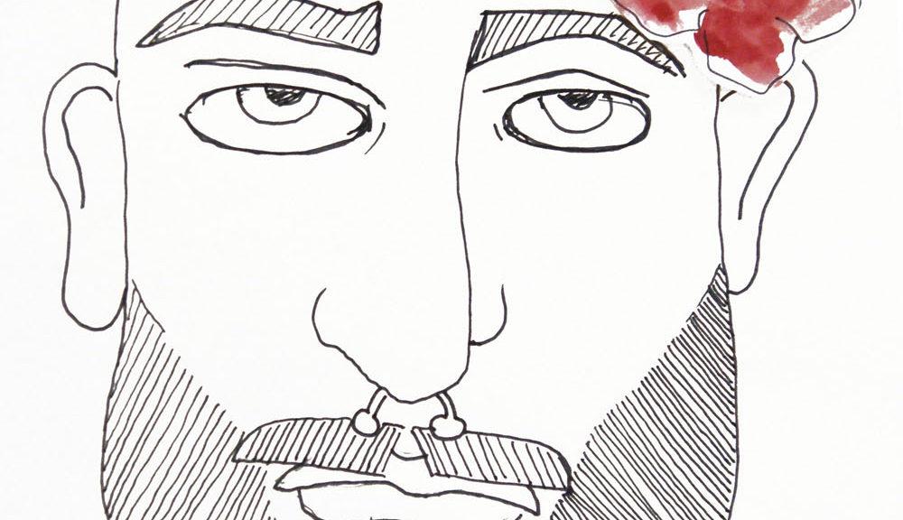 bearded men illustration