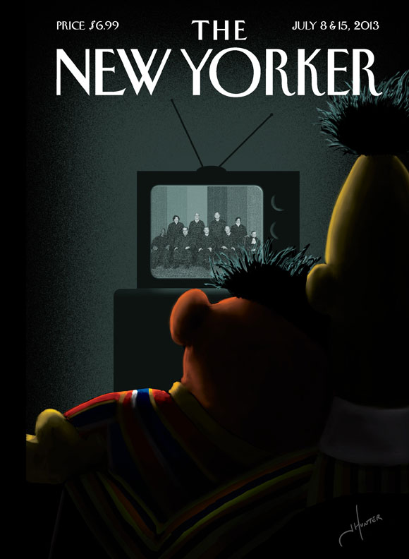 new yorker cover gay marriage