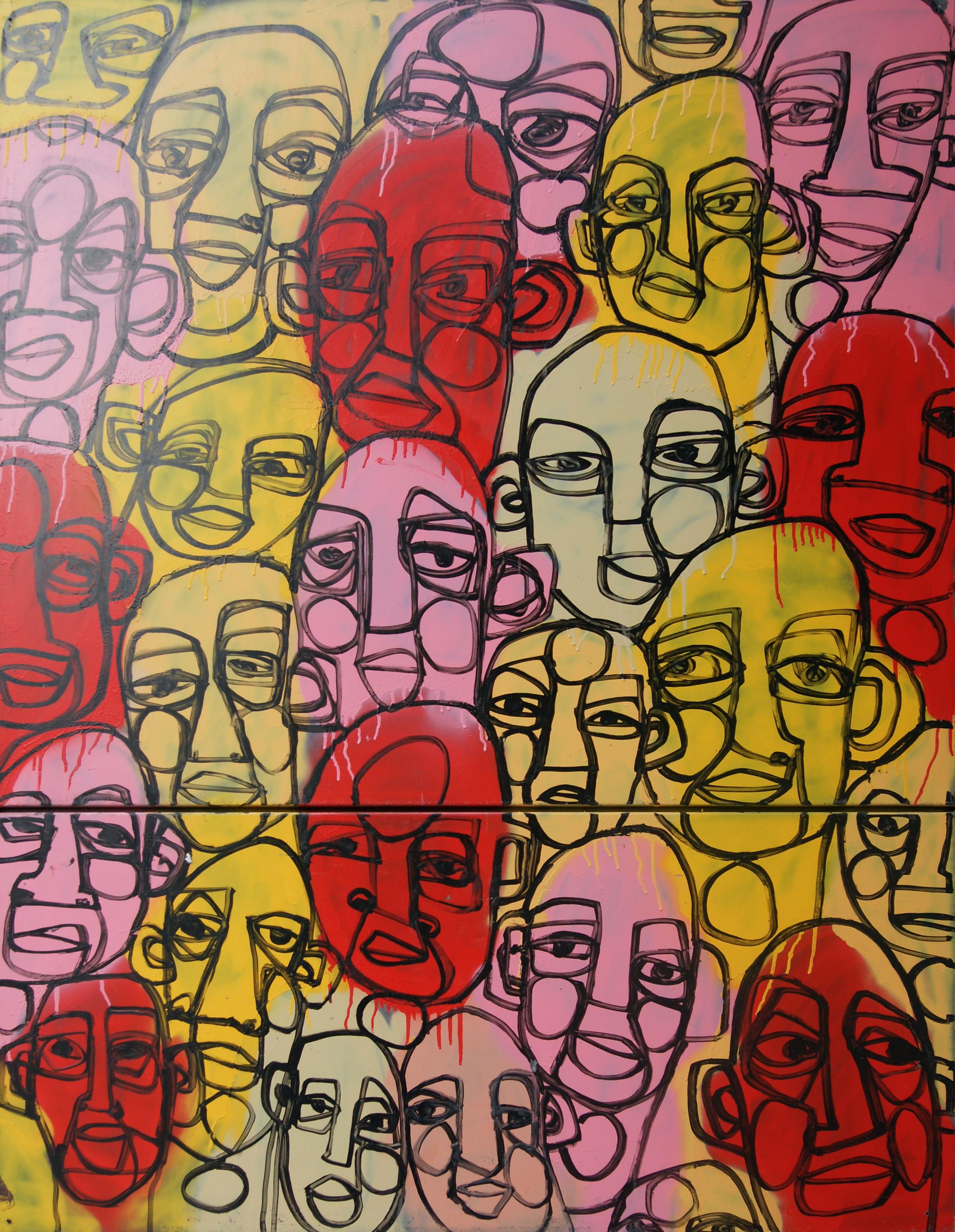 streetart faces