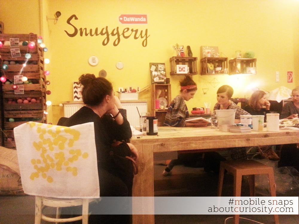 screenprint workshop by nadja girod at dawanda snuggery
