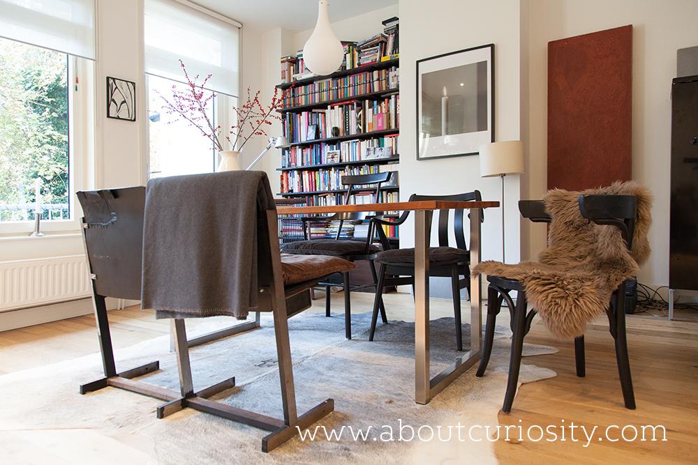 livingroom with fur