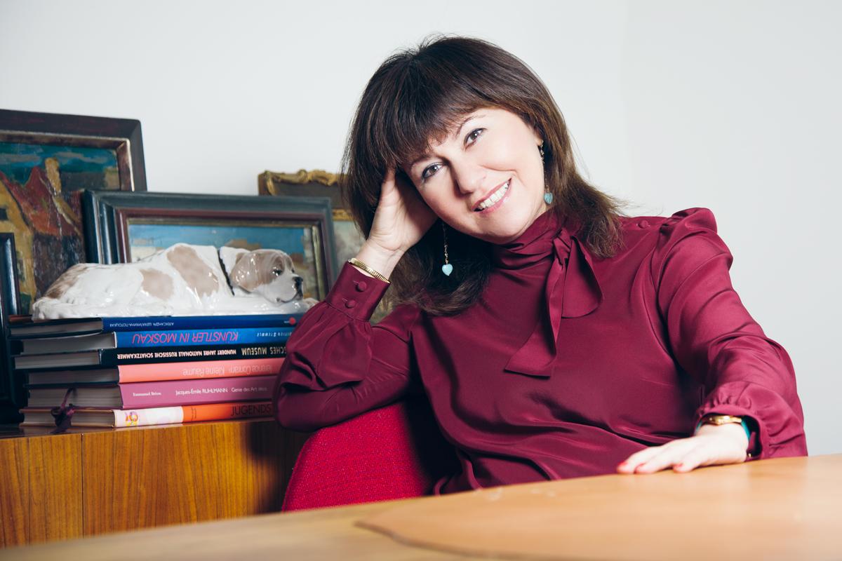 Elena Schmuschkowitsch von Romans Berlin