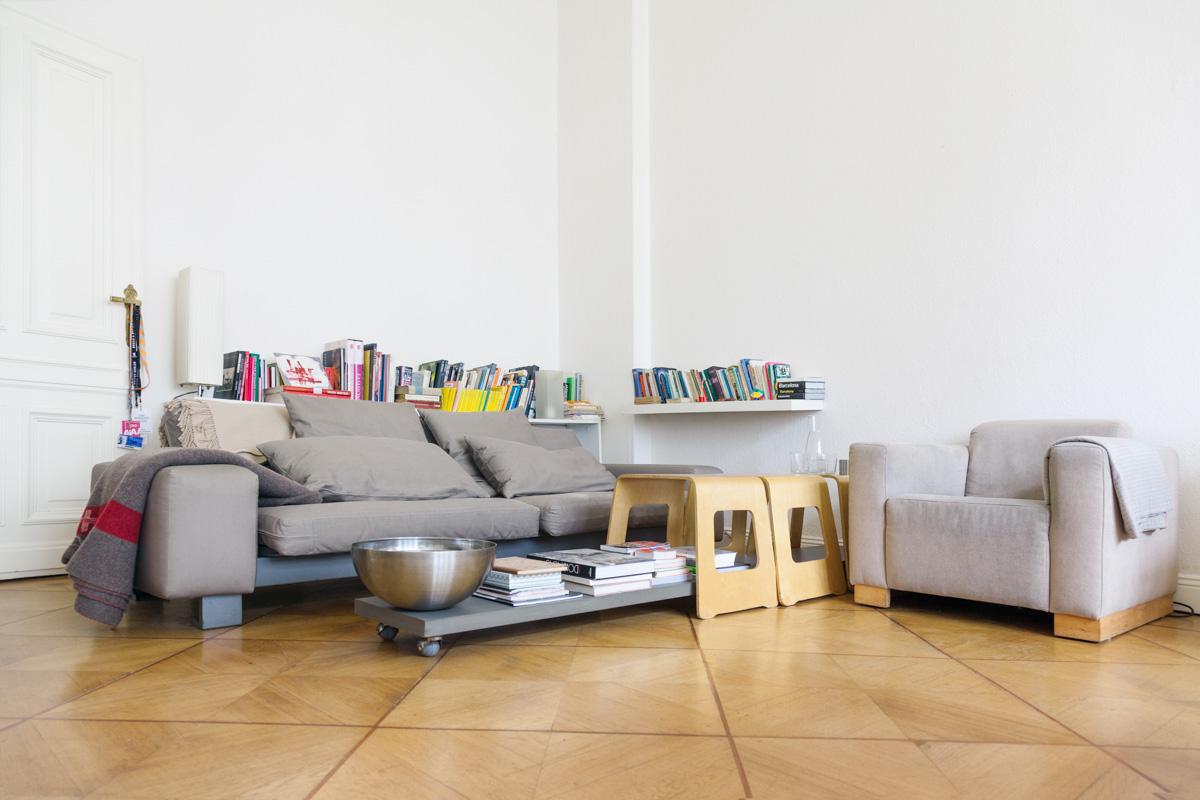 Living room from set designer Alexander Schulz