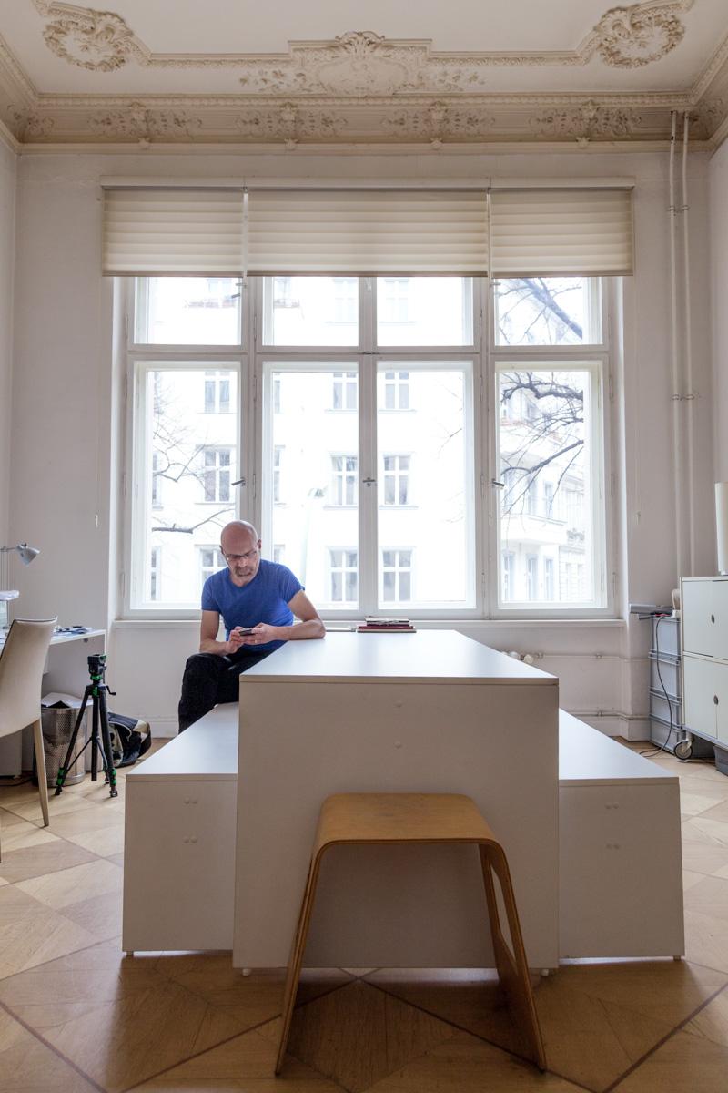 Work space from Alexander Schulz