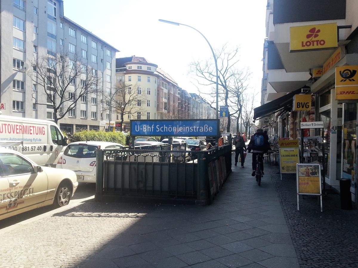 U Bahnhof Schoenleinstrasse