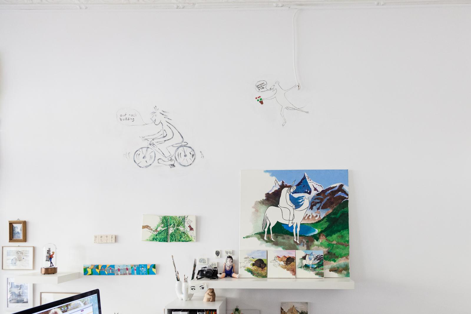 Illustration and Paintings by Gunilla Weinraub