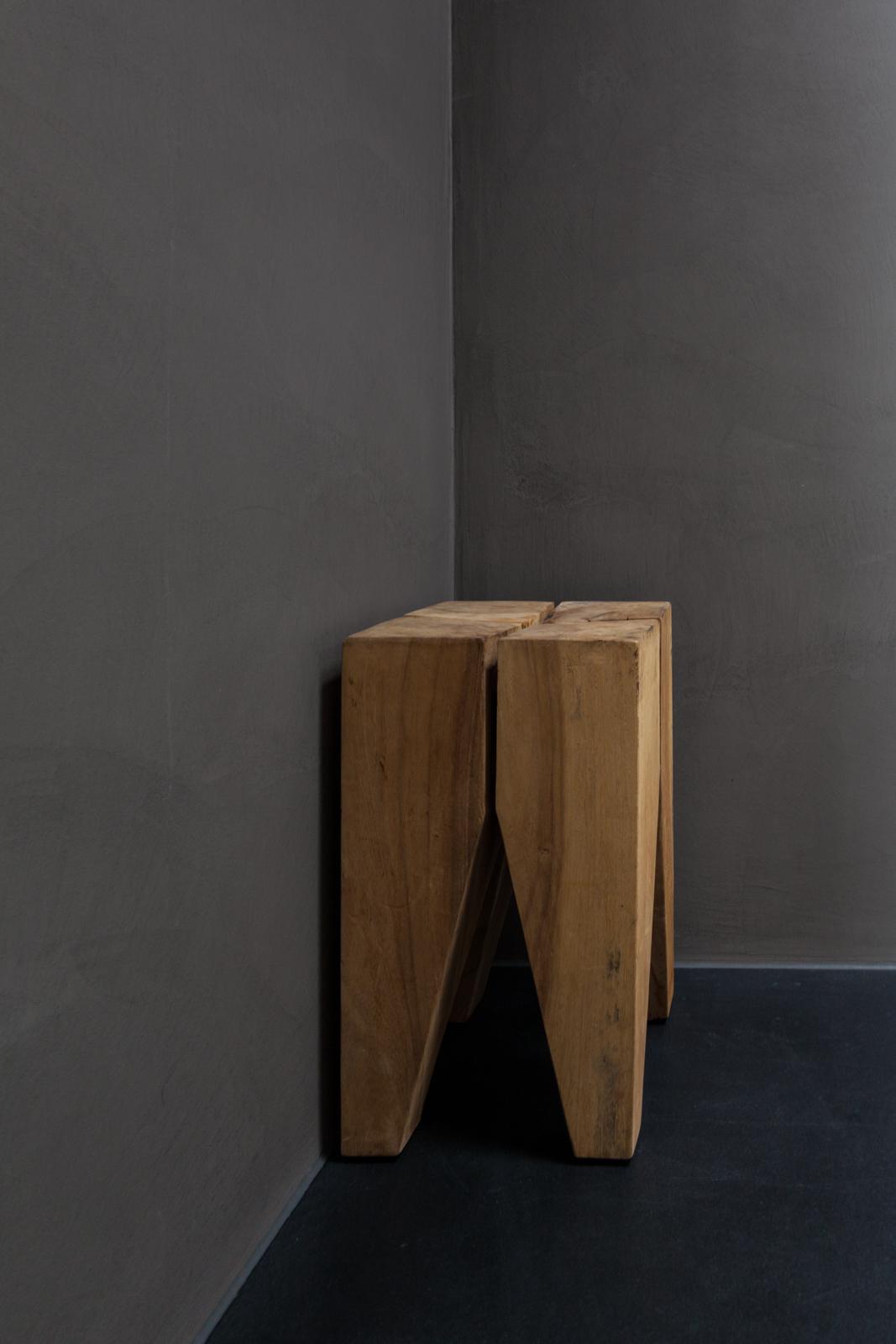 grey concrete walls Interior by Luca Lancini