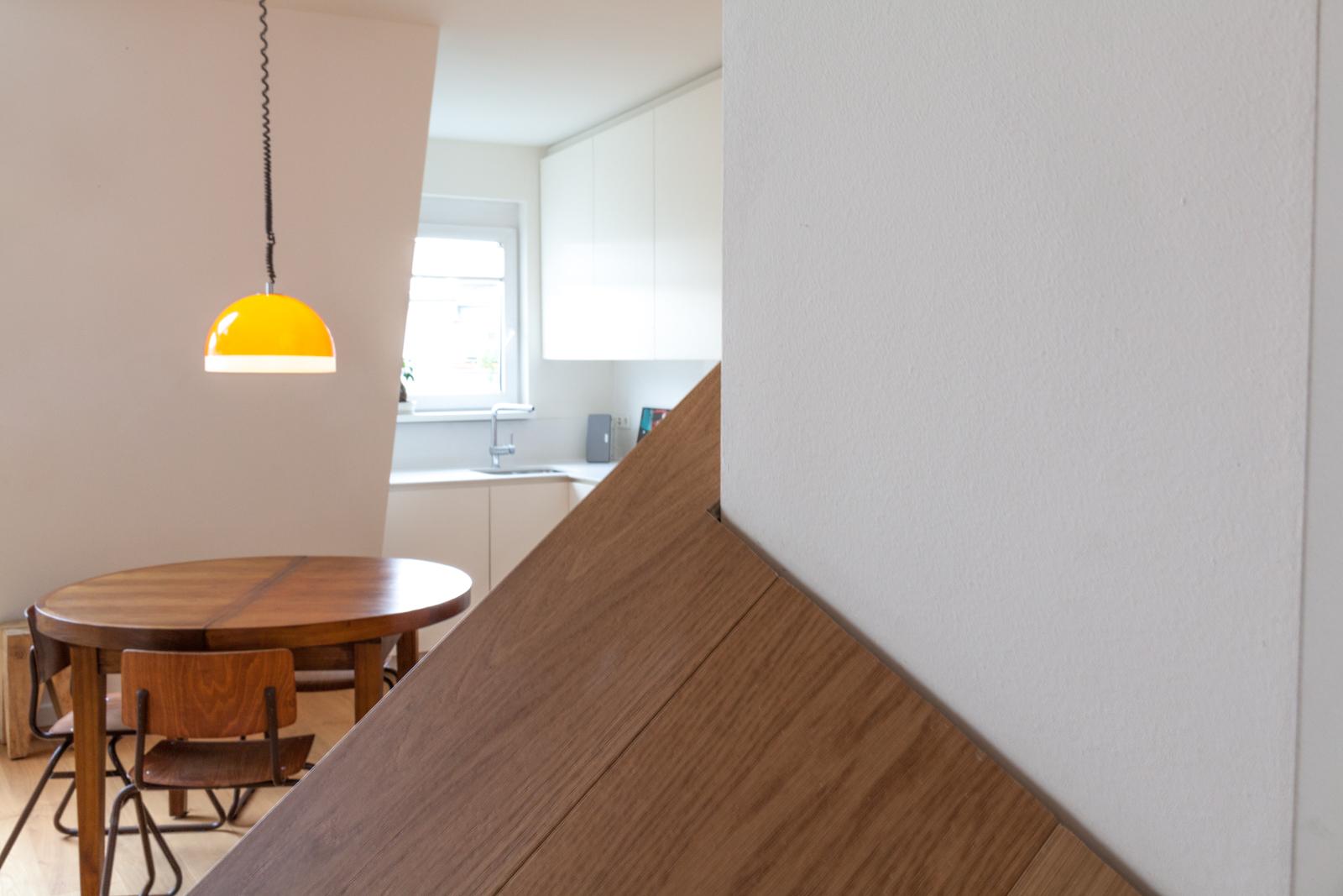 Kitchen Livingroom Interior by Luca Lancini