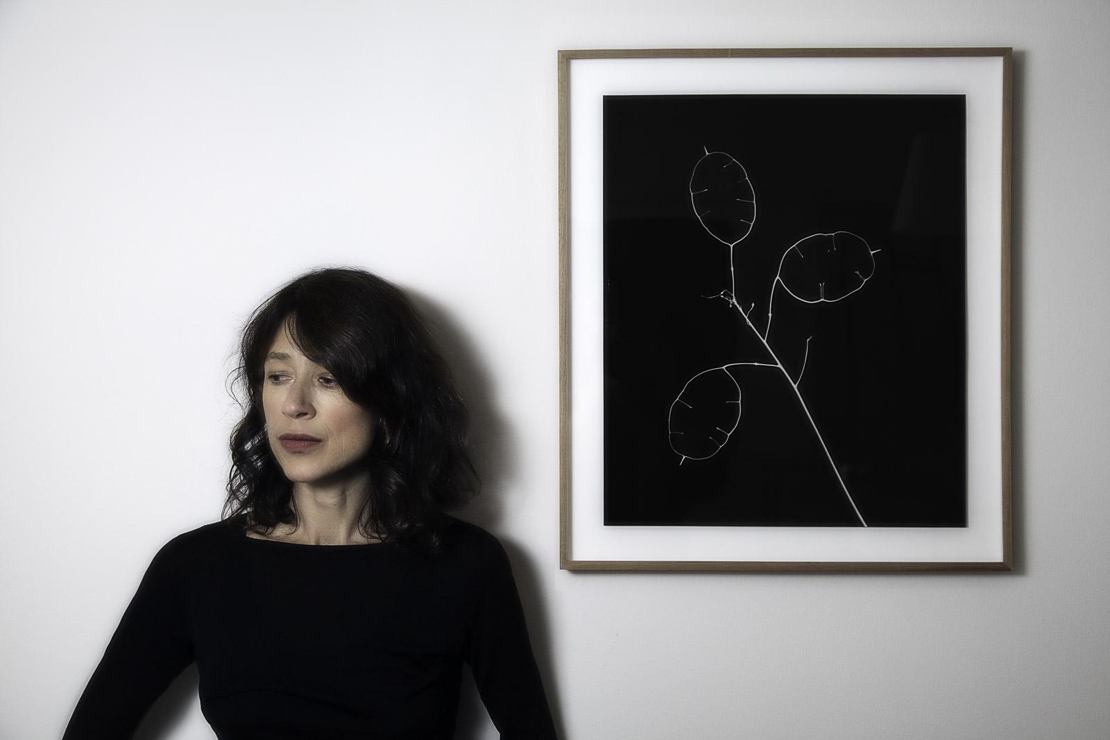 Nina with Art