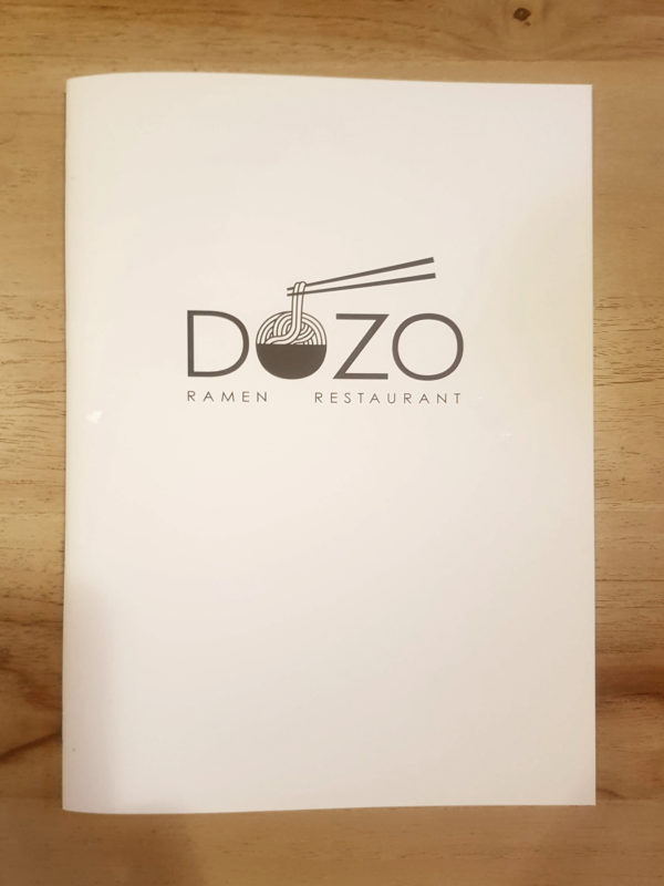 Dozo Restaurant Berlin Menu